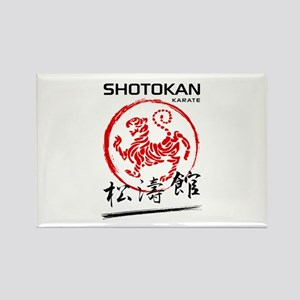 Shotokan Karate Tiger Magnets