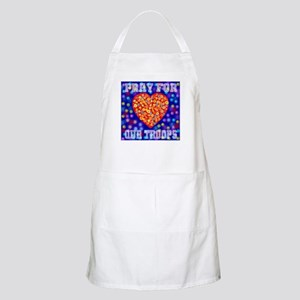 Pray for our troops BBQ Apron