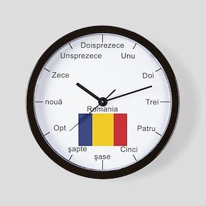 Romanian Wall Clock