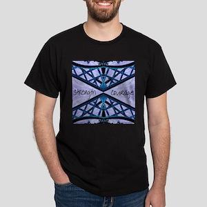 Blue Courage Dark T-Shirt