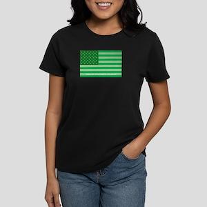 Green America Women's Dark T-Shirt