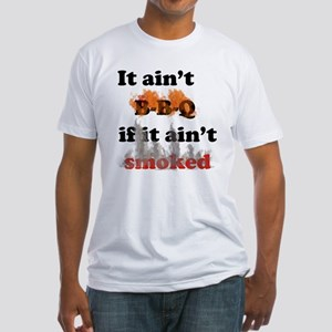 Bbq-smoked Fitted T-Shirt