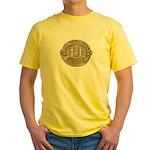Newark Police Yellow T-Shirt