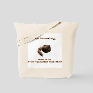 Raccoon Lodge Tote Bag