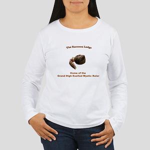 Raccoon Lodge Women's Long Sleeve T-Shirt
