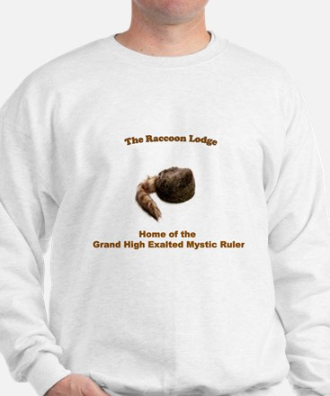 Raccoon Lodge Sweater