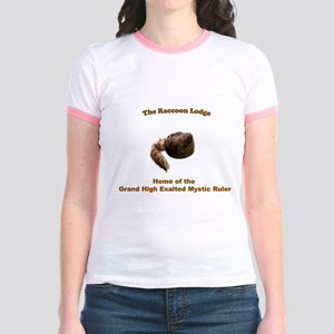 Raccoon Lodge Jr. Ringer T-Shirt