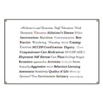 Alzheimer's and Dementia Staff Education Banner