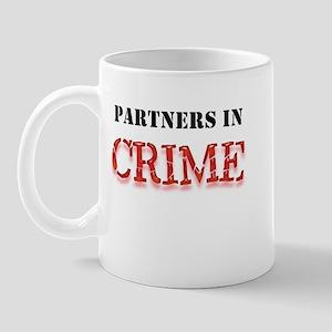 Partners in Crime Mug