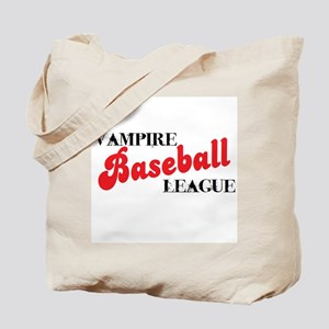 Vampire Baseball League Tote Bag