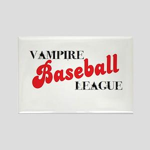 Vampire Baseball League Rectangle Magnet