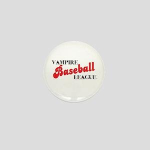 Vampire Baseball League Mini Button