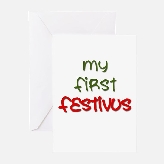 My First FESTIVUS™ Greeting Cards (Pk of 10)