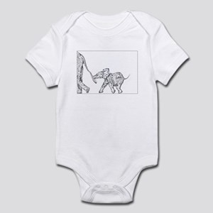 Elephants Infant Bodysuit
