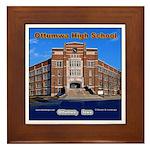 Ottumwa High School Framed Tile