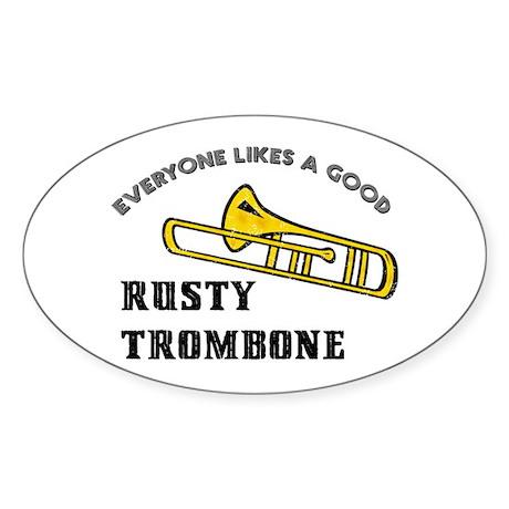 Rusty_Trombone_Oval_Sticker_300x300?height=300&width=300&qv=90&side=front trombones oval stickers cafepress
