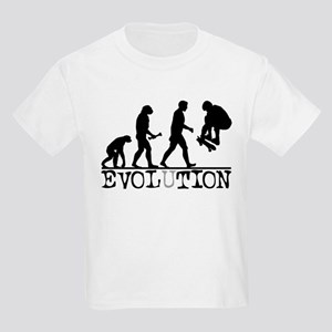EVOLUTION Skateboarding Kids Light T-Shirt