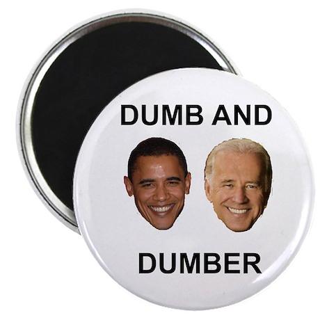 """Obama Dumb and Dumber 2.25"""" Magnet (10 pack)"""