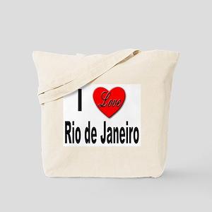 I Love Rio de Janeiro Tote Bag