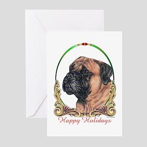 Bullmastiff Holiday Greeting Cards (Pk of 10)