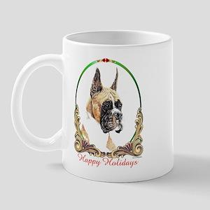Boxer Holiday Mug