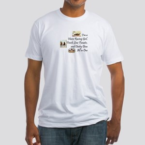 Derby Diva Fitted T-Shirt