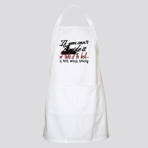 If You Can't Ride It... snowmobiling BBQ Apron