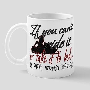 If You Can't Ride It... snowmobiling Mug