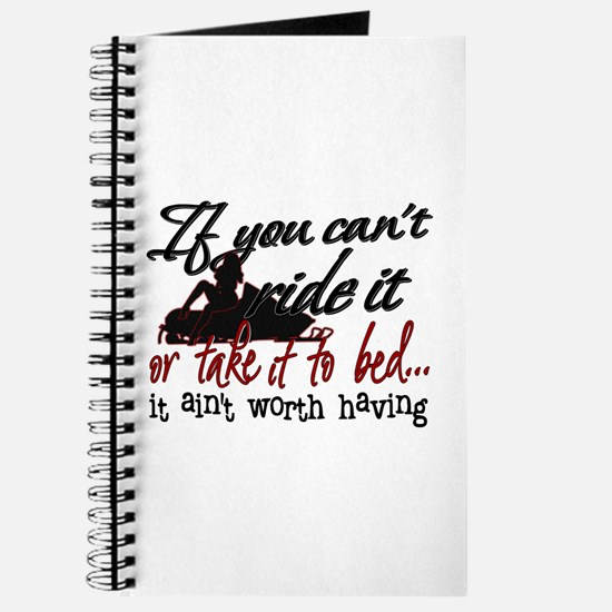 If You Can't Ride It... snowmobiling Journal