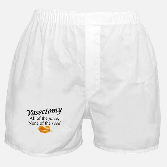 Vasectomy- expanded Boxer Shorts