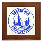 Salish Sea Expeditions Framed Tile