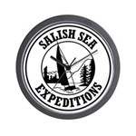 Salish Sea Expeditions Wall Clock