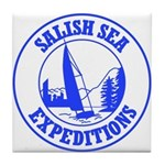 Salish Sea Expeditions Tile Coaster