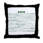 Ethics Awareness Custom Pillow