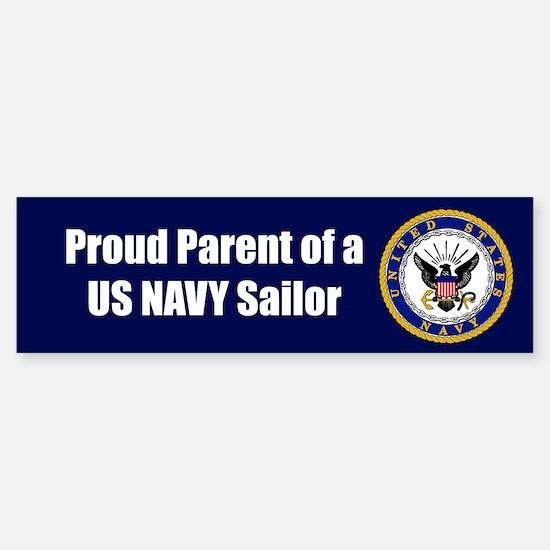 Navy Sailor Parent Bumper Bumper Bumper Sticker