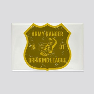 Army Ranger Drinking League Rectangle Magnet
