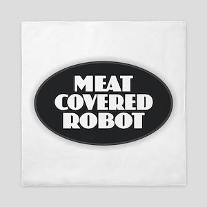 Meat Covered Robot Queen Duvet