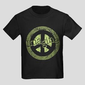 Imagine Peace Kids Dark T-Shirt