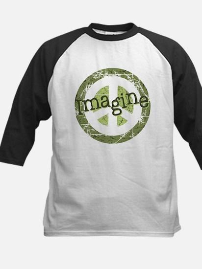 Imagine Peace Kids Baseball Jersey