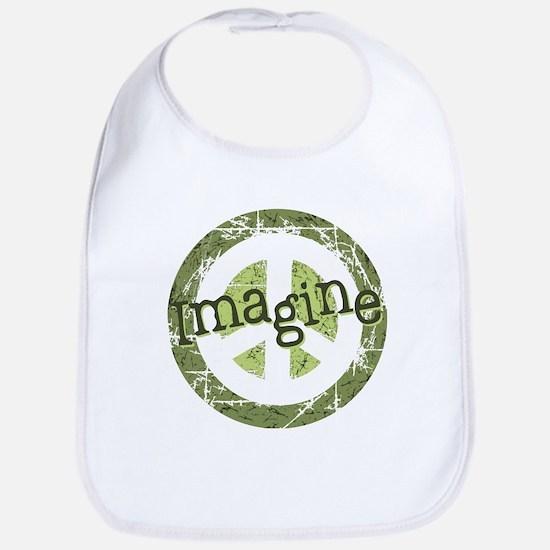 Imagine Peace Bib