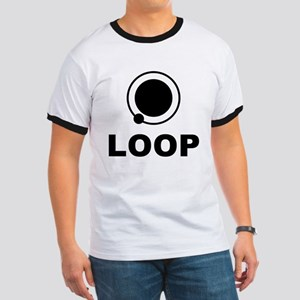 """LOOP """"No Logo"""" Ringer T"""
