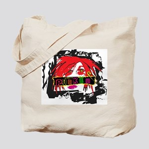 Punker Chick Tote Bag