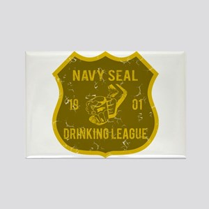 Navy Seal Drinking League Rectangle Magnet