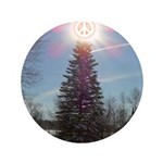 """Christmas Peace 3.5"""" Button (100 pack)"""