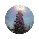 "Christmas Peace 3.5"" Button"
