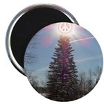 """Christmas Peace 2.25"""" Magnet (100 pack)"""