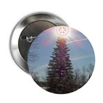 """Christmas Peace 2.25"""" Button (10 pack)"""
