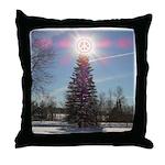 Christmas Peace Throw Pillow