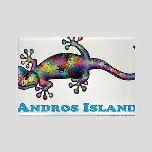 Andros Island Bahamas Gecko Magnets