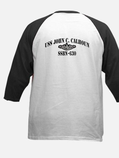 USS JOHN C. CALHOUN Kids Baseball Jersey
